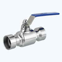 Sanitary female threaded 2PC ball valves