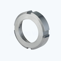 Sanitary SMS-13R slotted round nuts