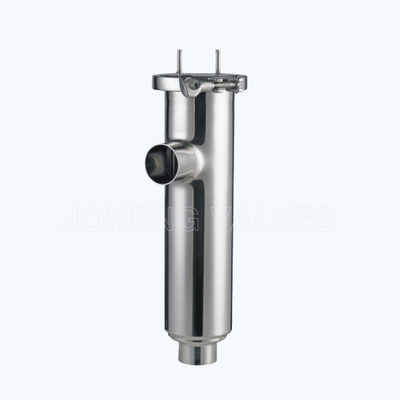Sanitary butt welded L type filters strainers