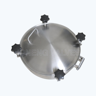 Pressure Type round tank manlid